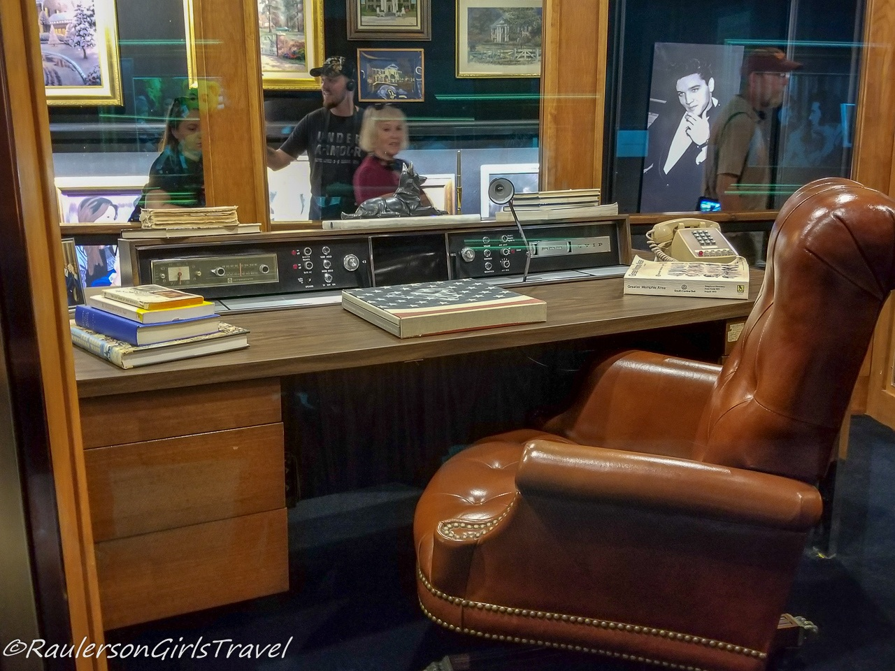 Elvis' Office Desk and Chair