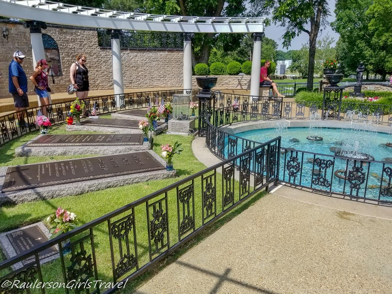 Meditation Garden at Graceland