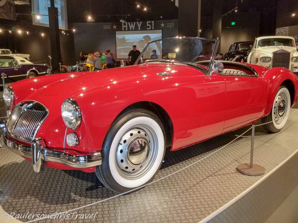 Red Sports Car - Presley Motors