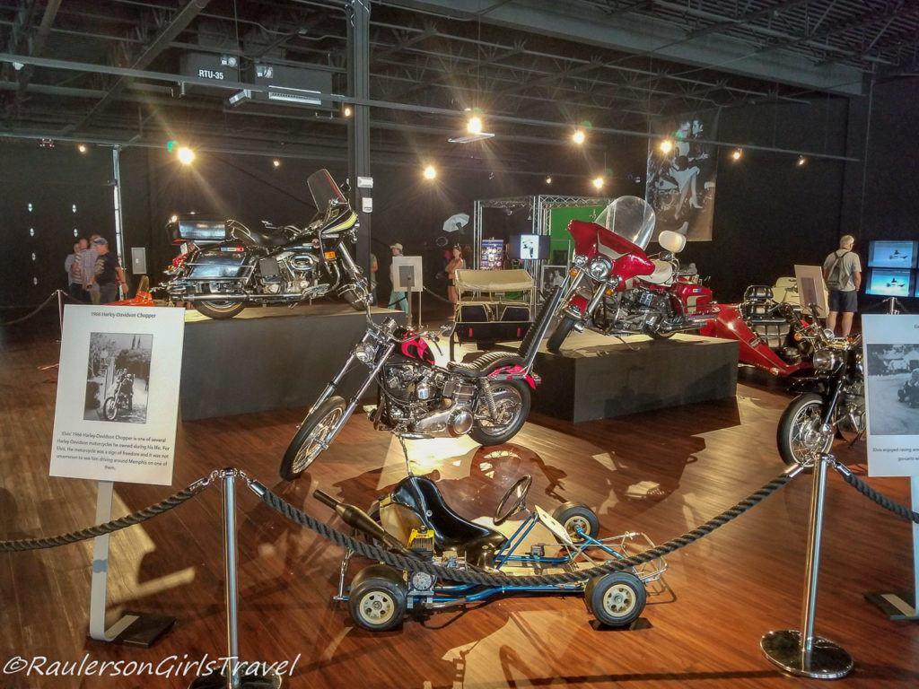 Elvis Presley's Motorcycles and Go-karts