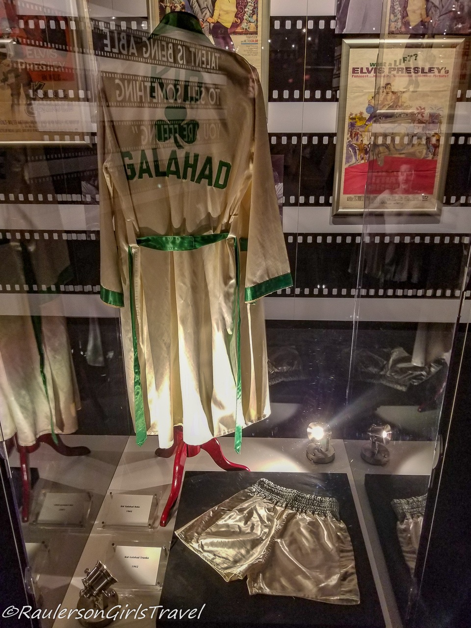 Elvis Presley's Robe and Shorts from Kid Galahad Movie