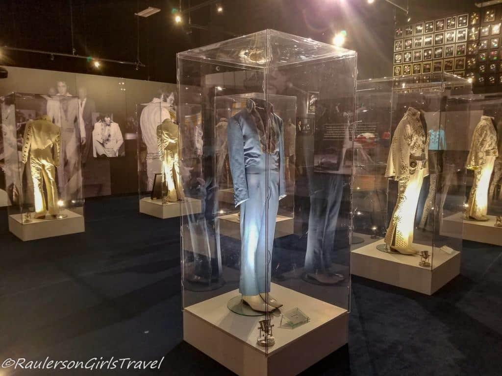 Elvis Presley's Suits on Display