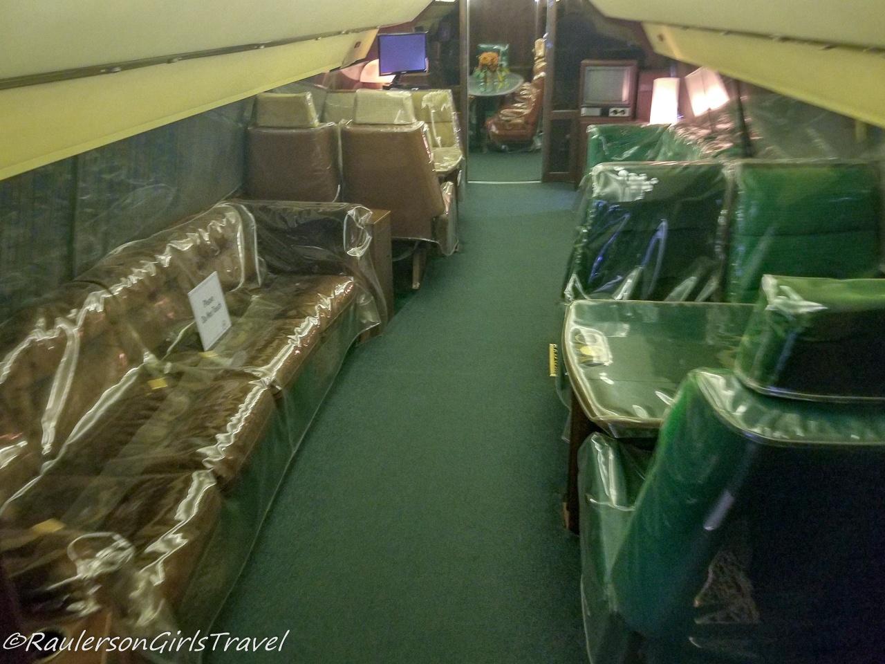 Inside Lisa Marie Airplane
