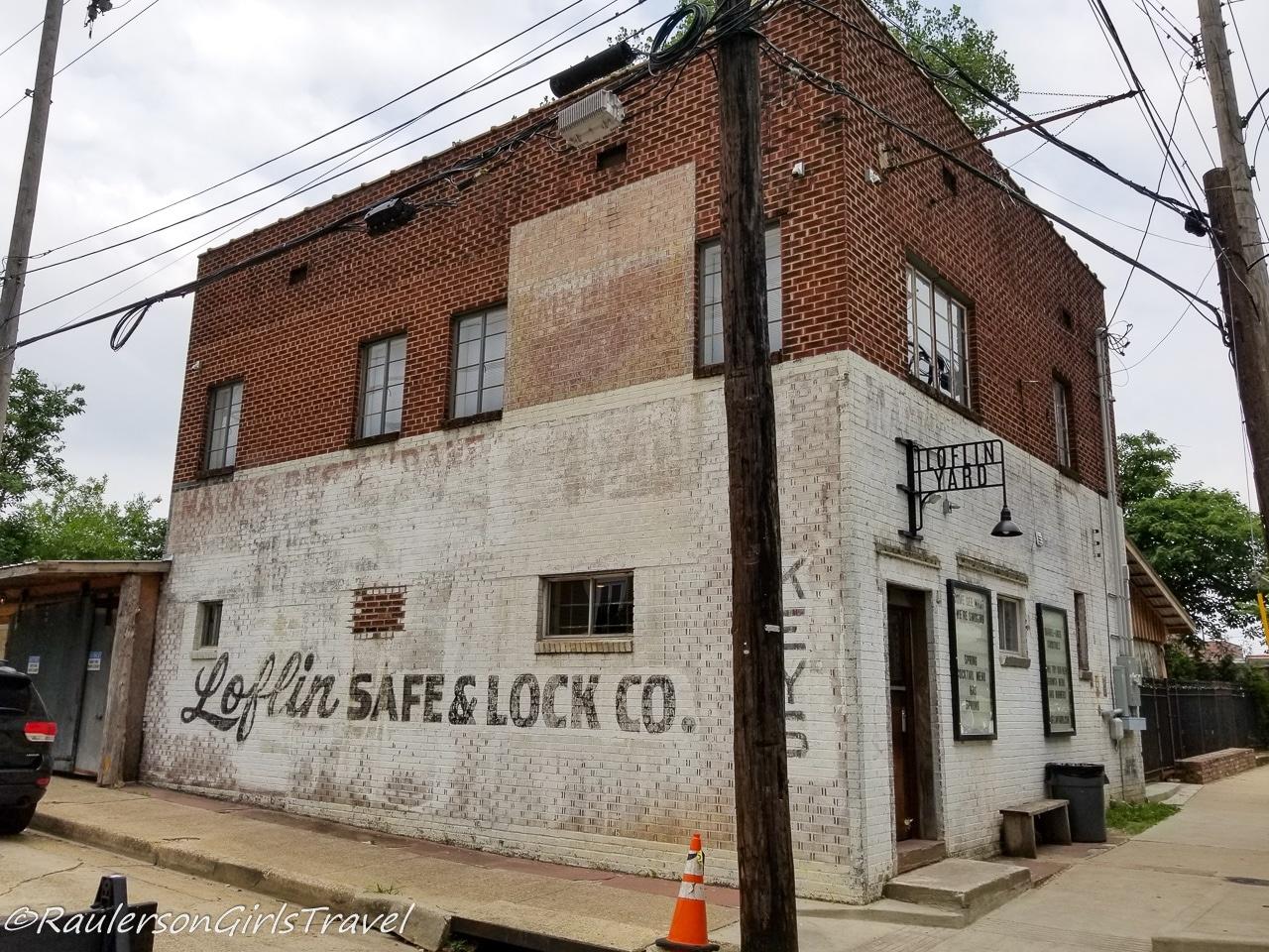 Exterior of Loflin Yard - Memphis Restaurants