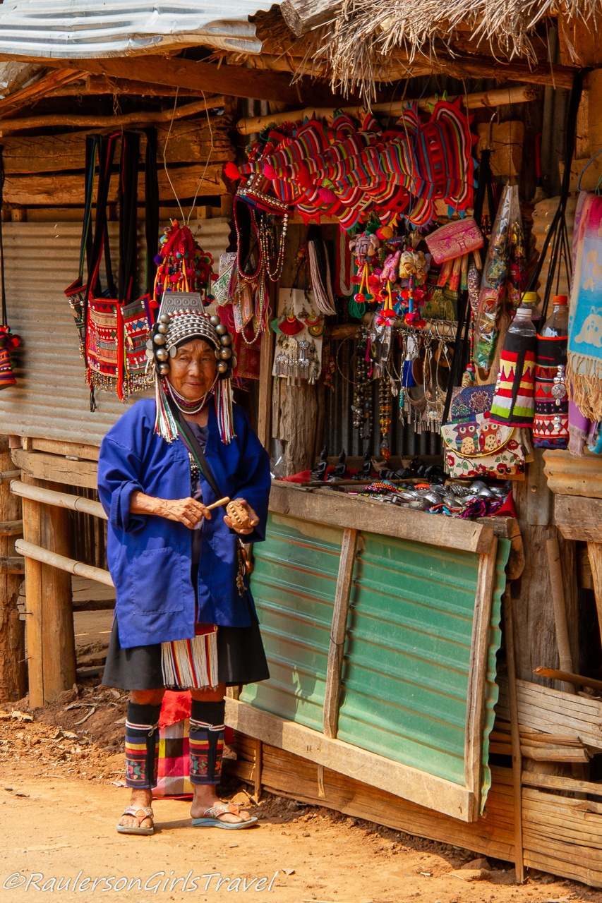 LomueAka Woman in the Akha Tribe - Thailand Tribes