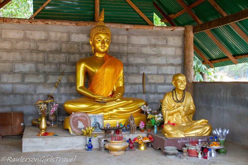 Buddha Temple in the Lisu Tribe