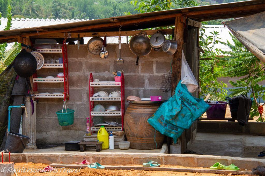 Kitchen in Thailand Home