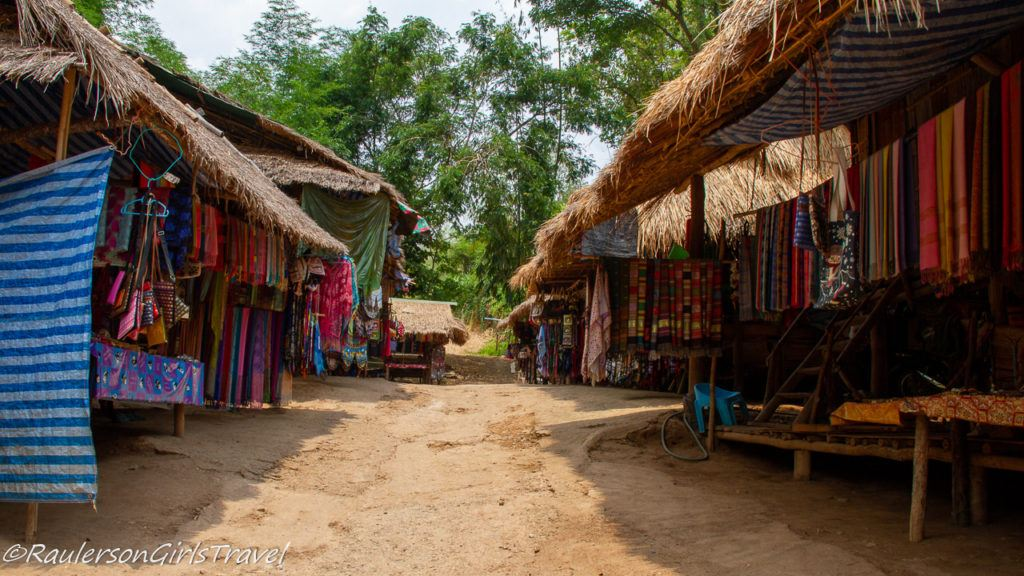 Shops in the Long Neck Tribe Village
