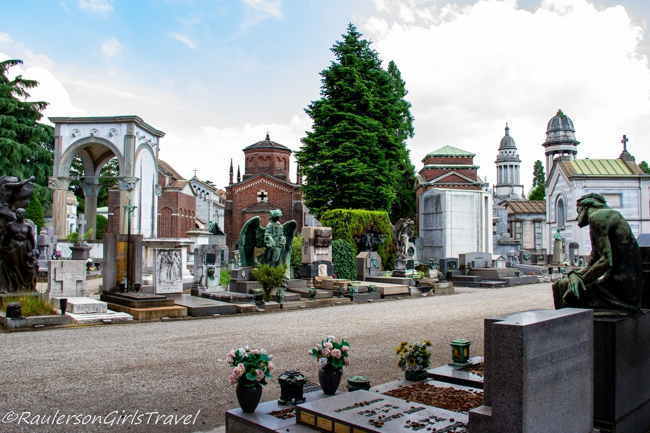 Mausoleums in Monumental Cemetery