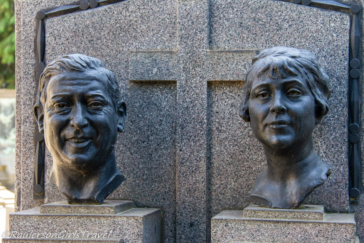 Man and Wife busts