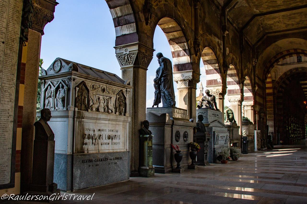 Mausoleum in the Famedio