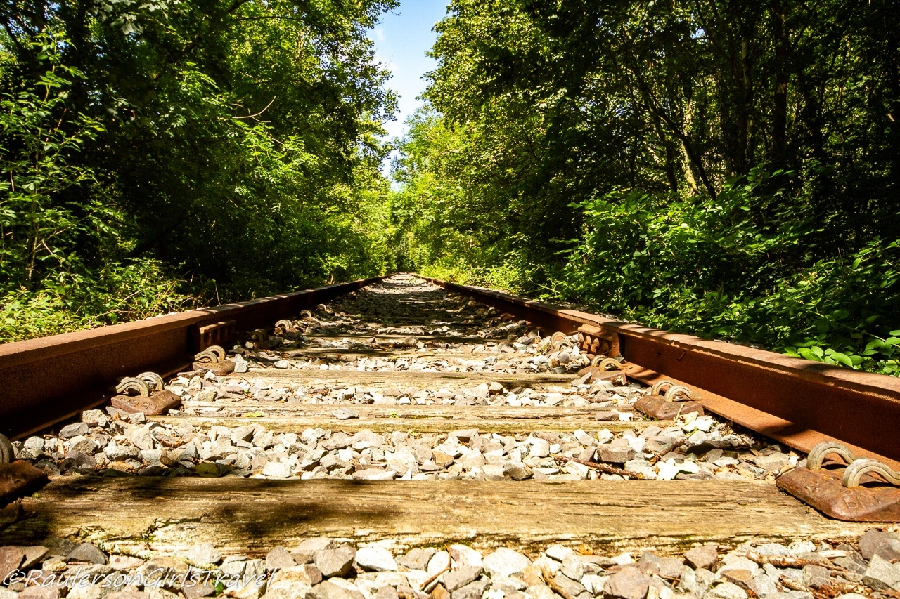 Old Train tracks in the Dingle
