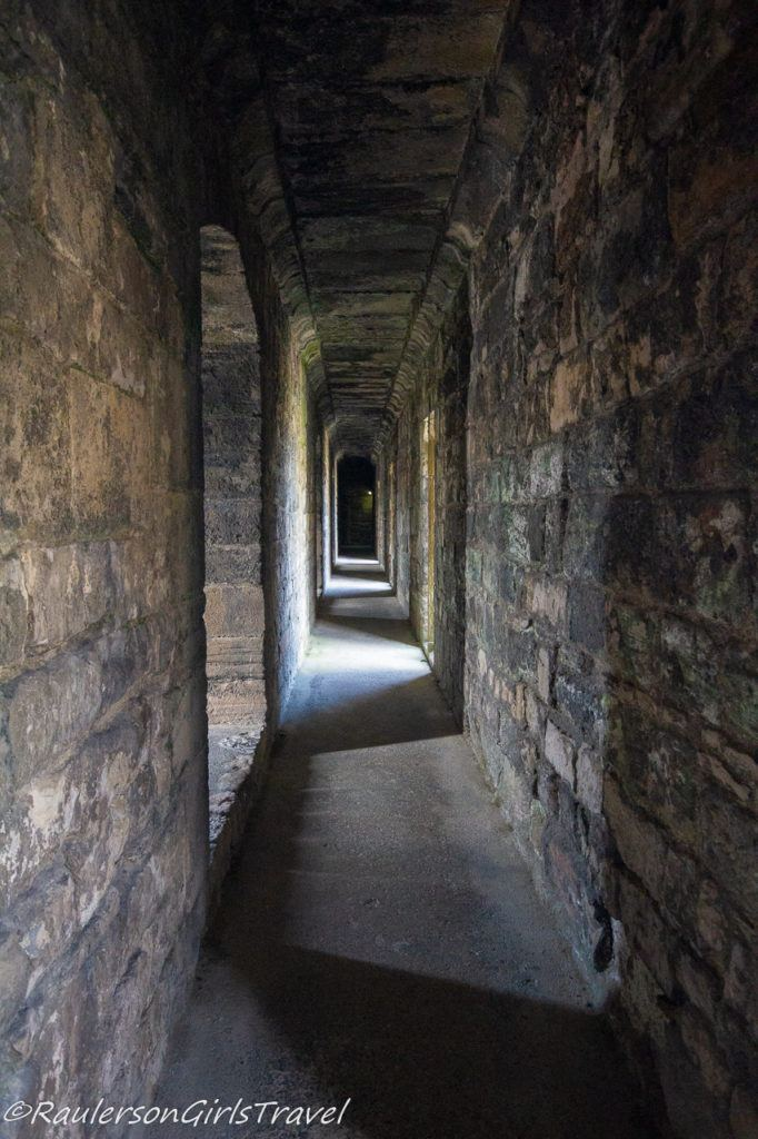 Hallway in Caernarfon Castle