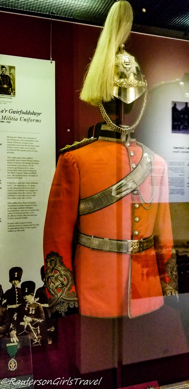 Militia Uniforms in the Royal Welch Fusiliers Museum