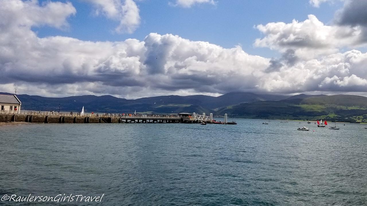 Beaumaris Pier and the Menai Strait