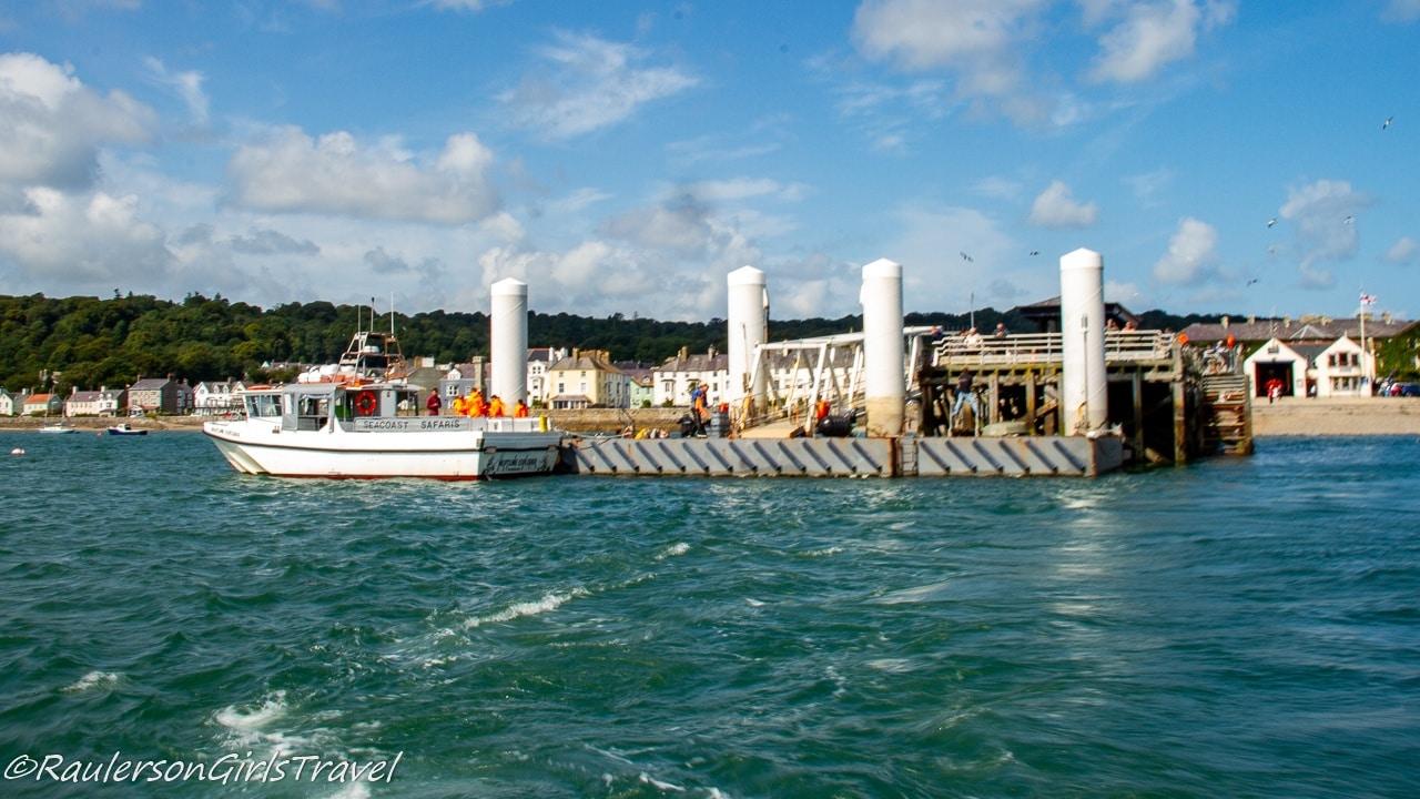 Beaumaris Pier and Seacoast Puffin Island Cruise boats