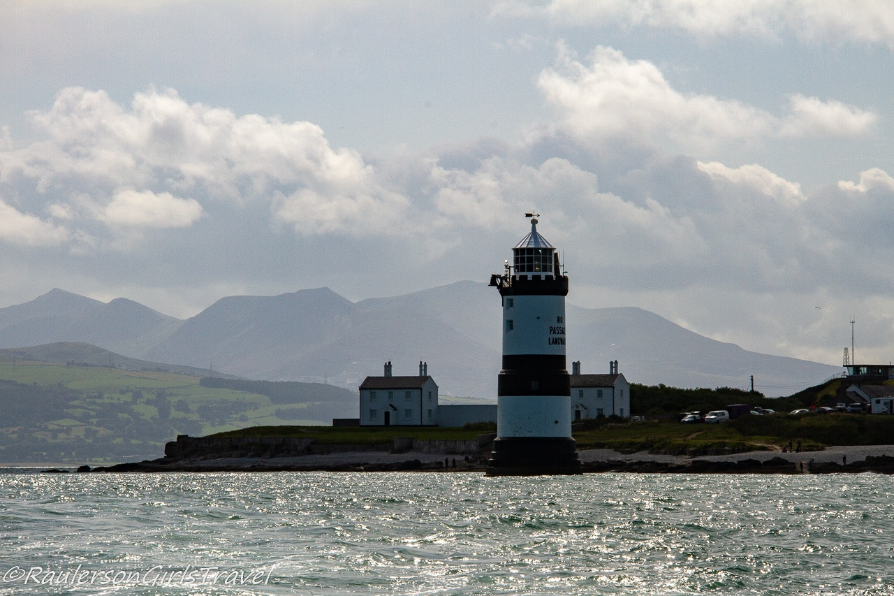 Penmon Lighthouse and the Isle of Anglesey