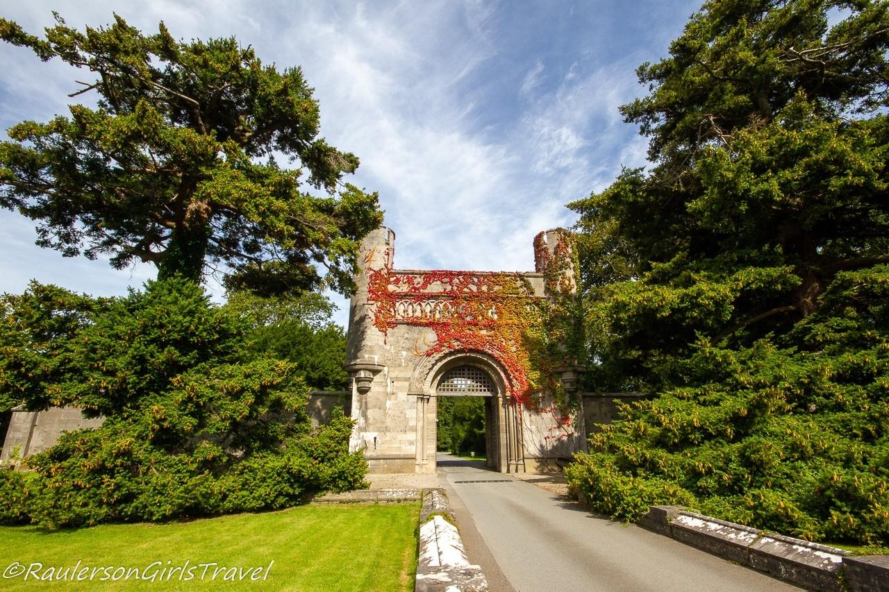Entrance to Penrhyn Castle
