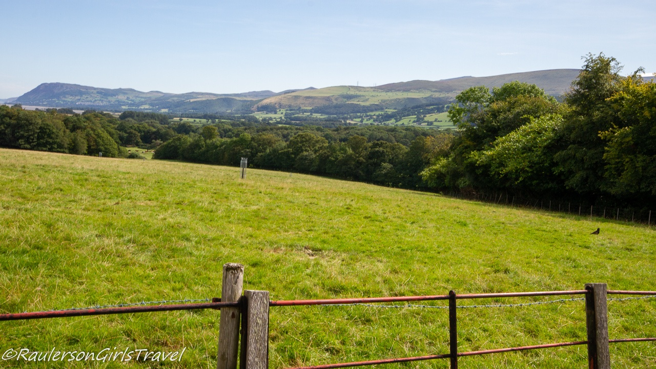 Views of Wales Countryside from Penrhyn