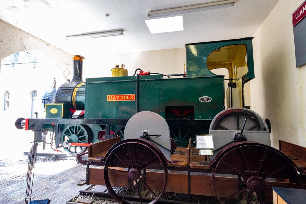 Haydock train engine