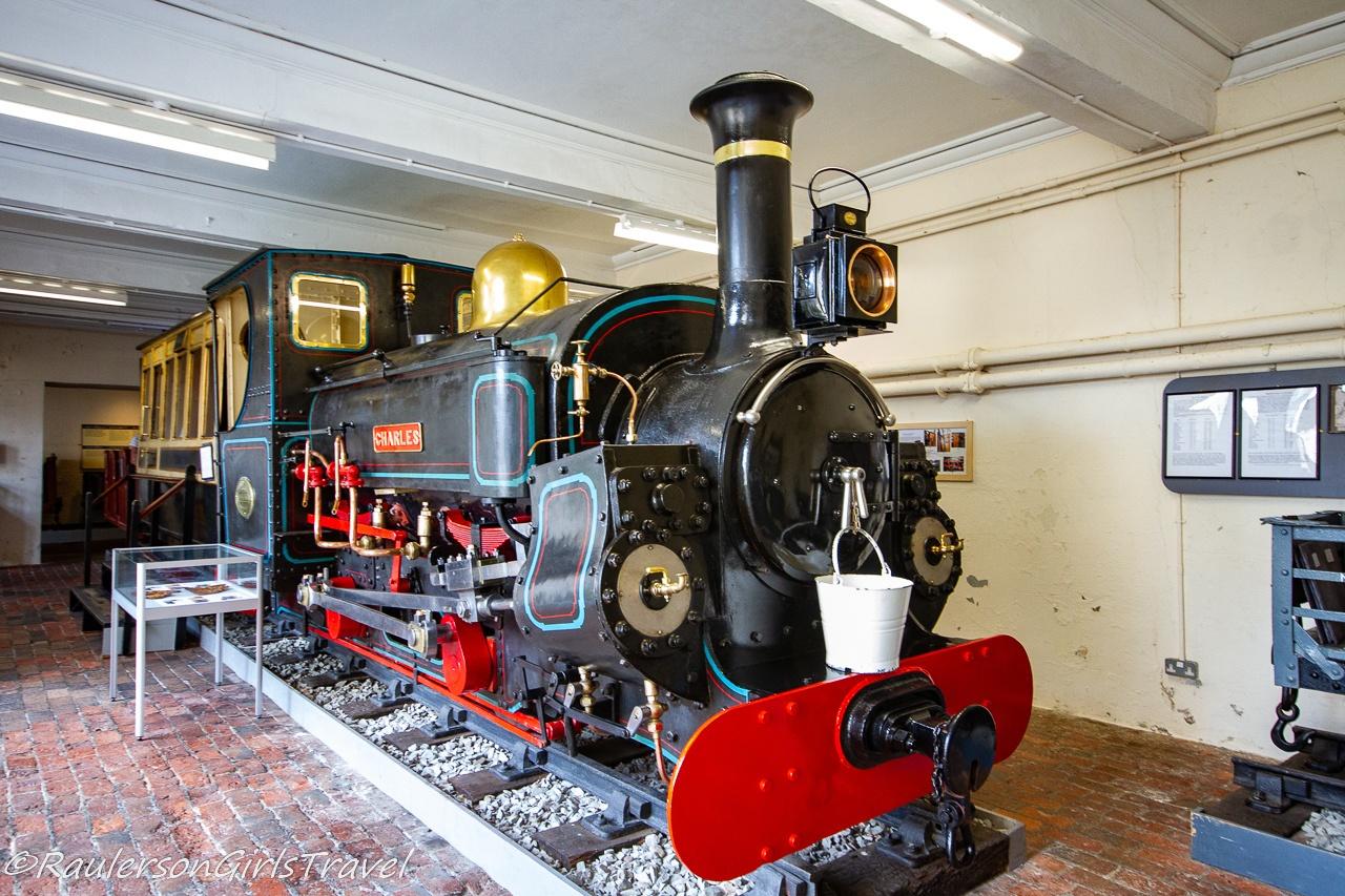 Charles Locomotive Engine and Train Car