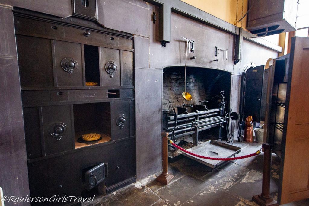 Oven in Victorian Kitchen
