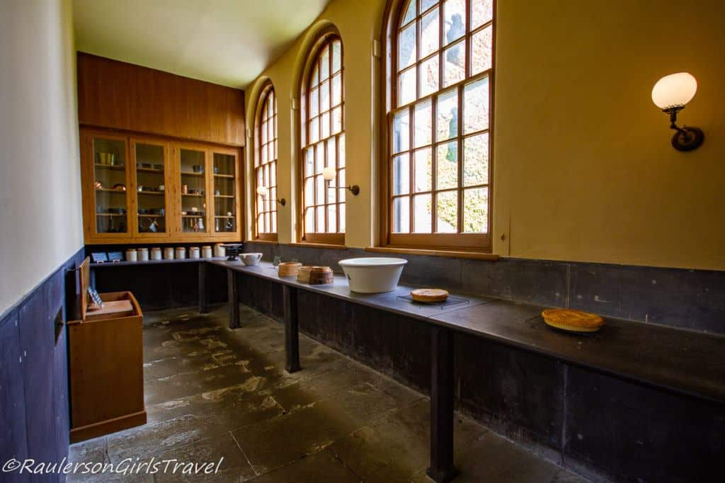 Cooling Tables for Pies in the Victorian Kitchen