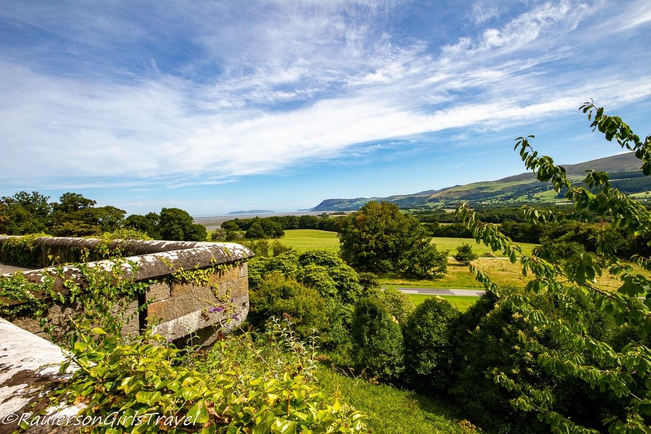 View of the Snowdonia Mountains
