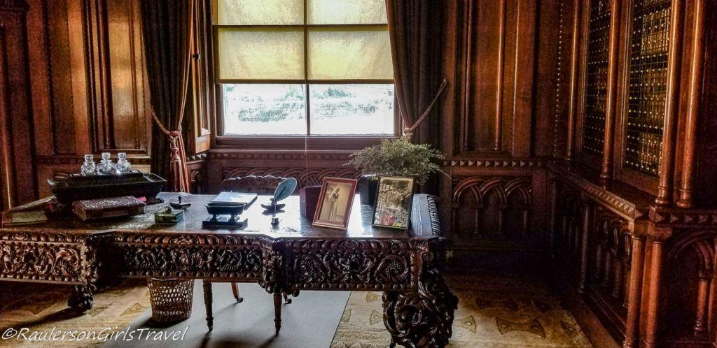 Desk in Penrhyn Castle