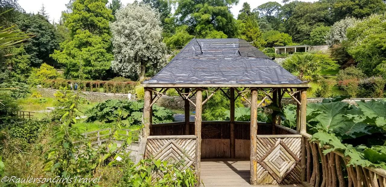 Gazebo in Penrhyn Garden