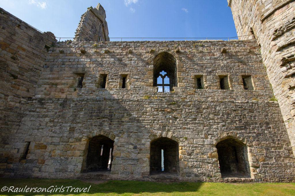 Caernarfon Castle wall