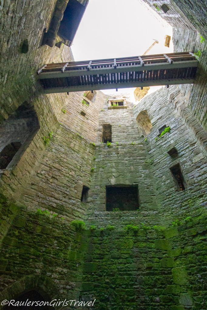 Granary Tower in Caernarfon Castle