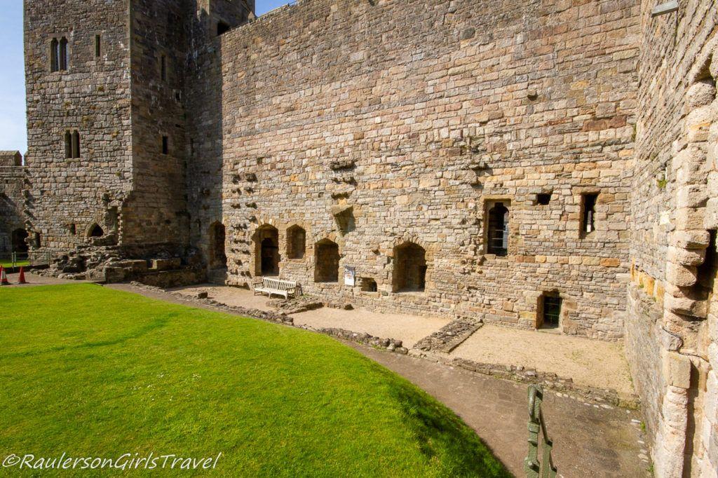 Caernarfon Castle Kitchen Foundations