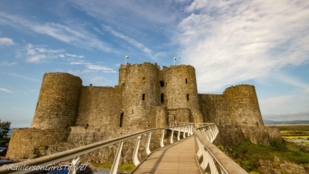 Entrance to Harlech Castle