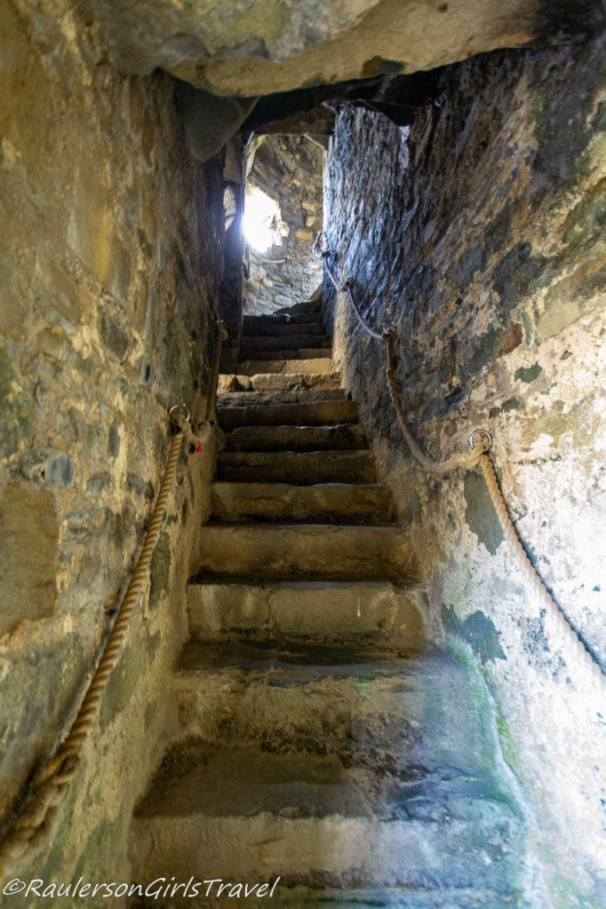 Interior Castle Stairways