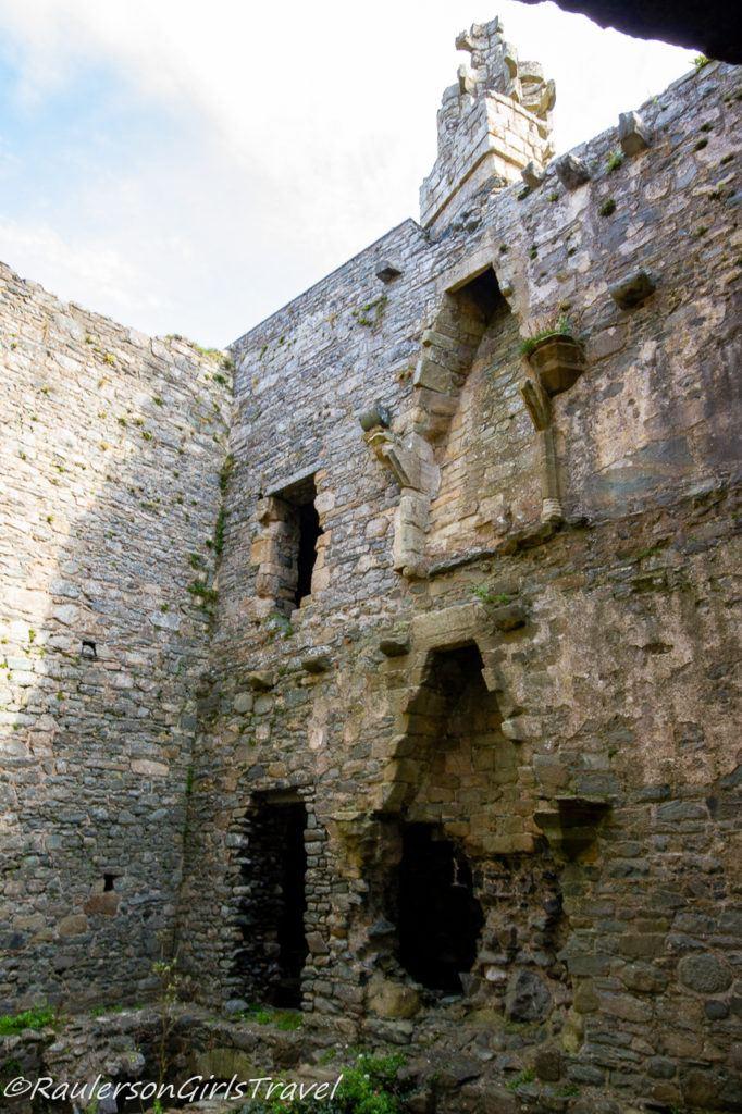 Harlech Castle Ruins