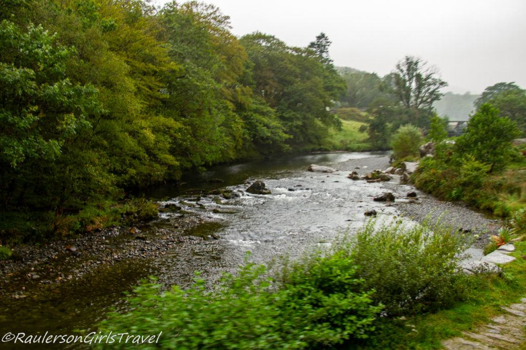 Creek in Snowdonia National Park