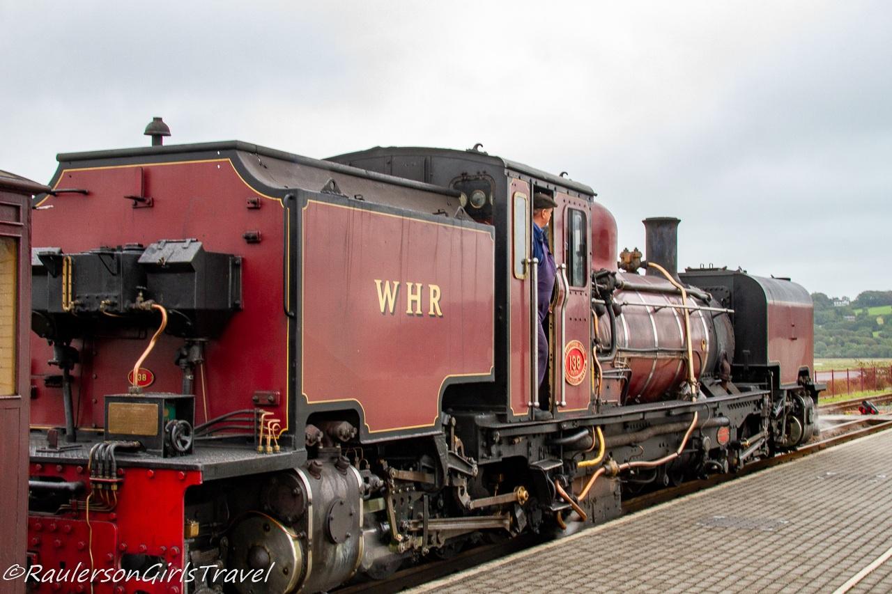 WHR train engine