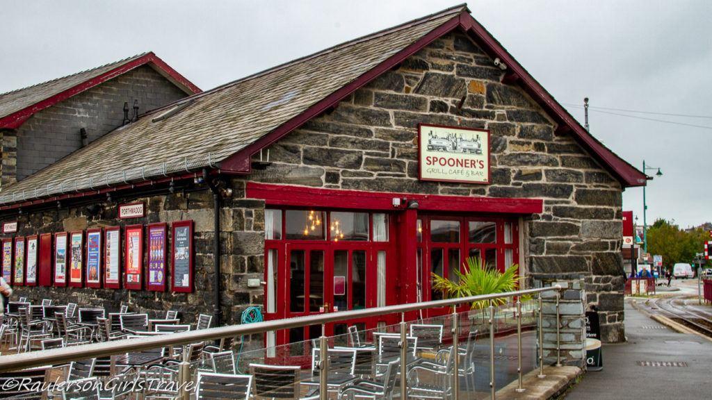 Spooner's Restaurant in Porthmadog
