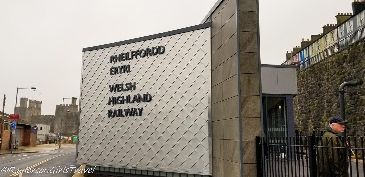 WHR Caernarfon Train Station