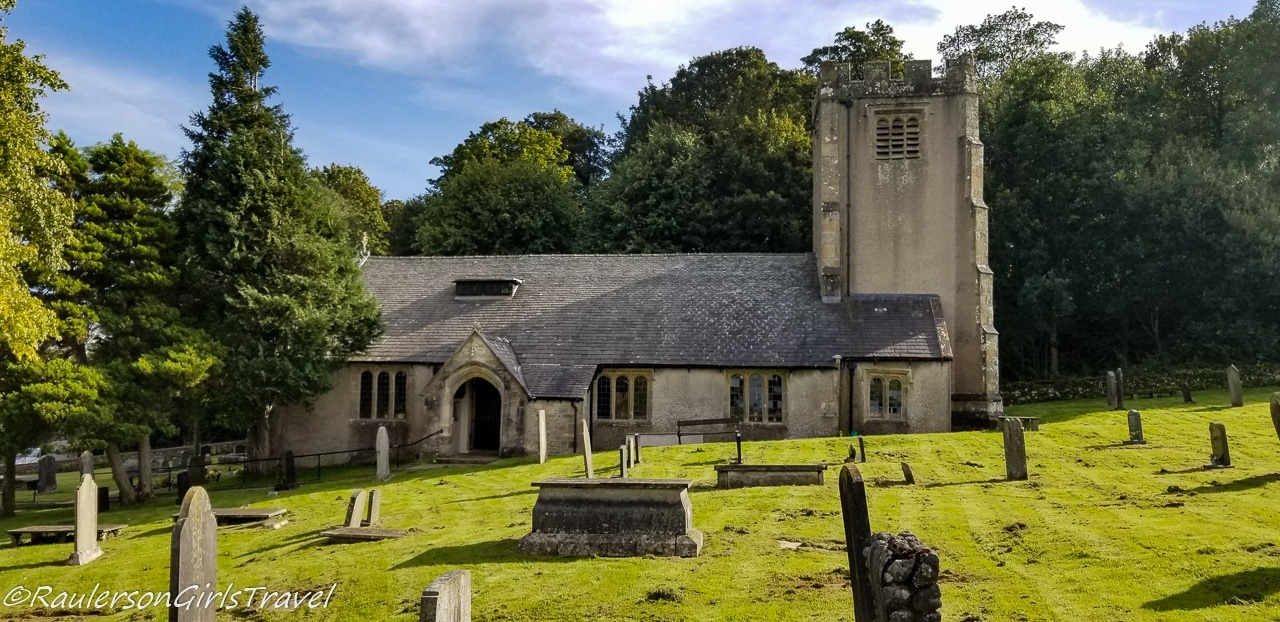 Gravestones at St. Cuthbert's Church
