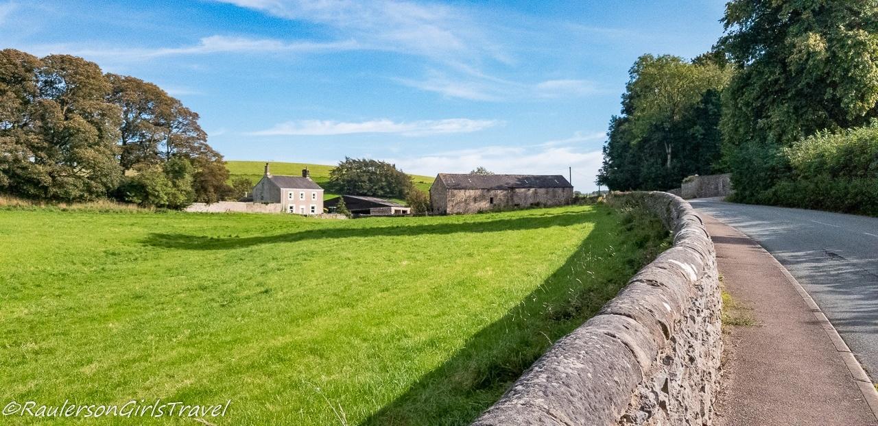 Stone fence in Cumbria