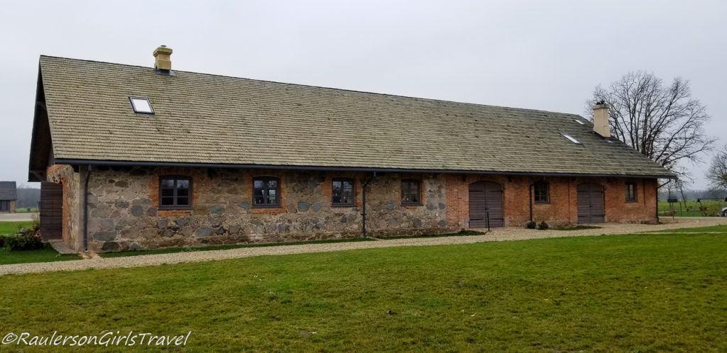 Event shed at Mazmežotne Manor