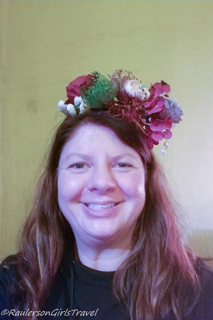 Wreath Headband made at Abgunste Manor