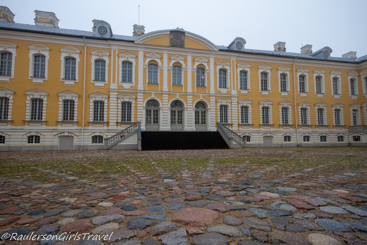 The Main Entrance of Rundāle Palace