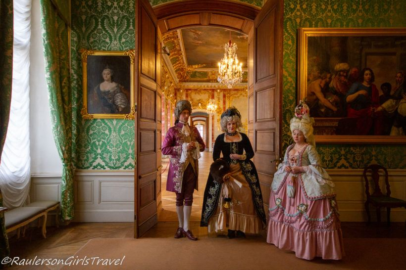 Our Tour Guides in Rundāle Palace