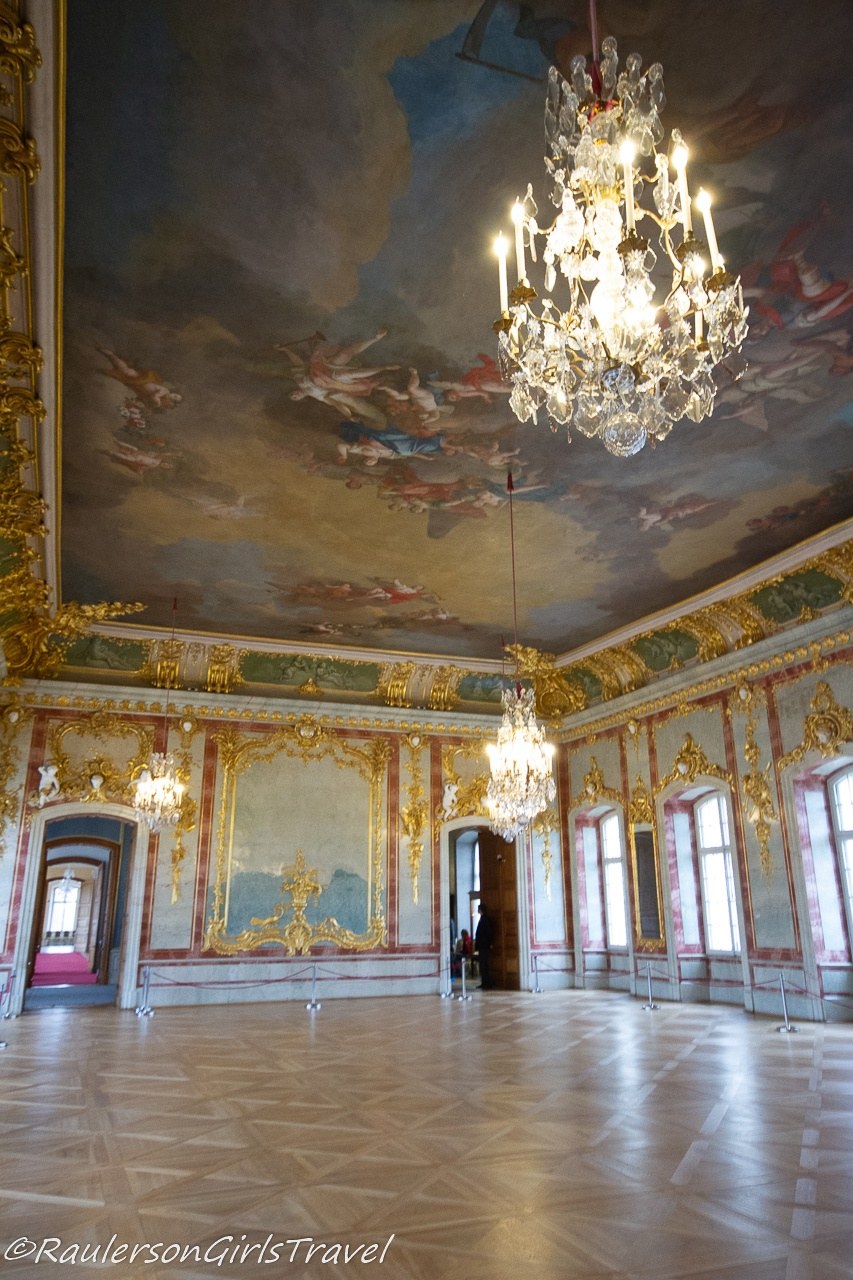 The Painted Ceiling in the Duke's Throne Room