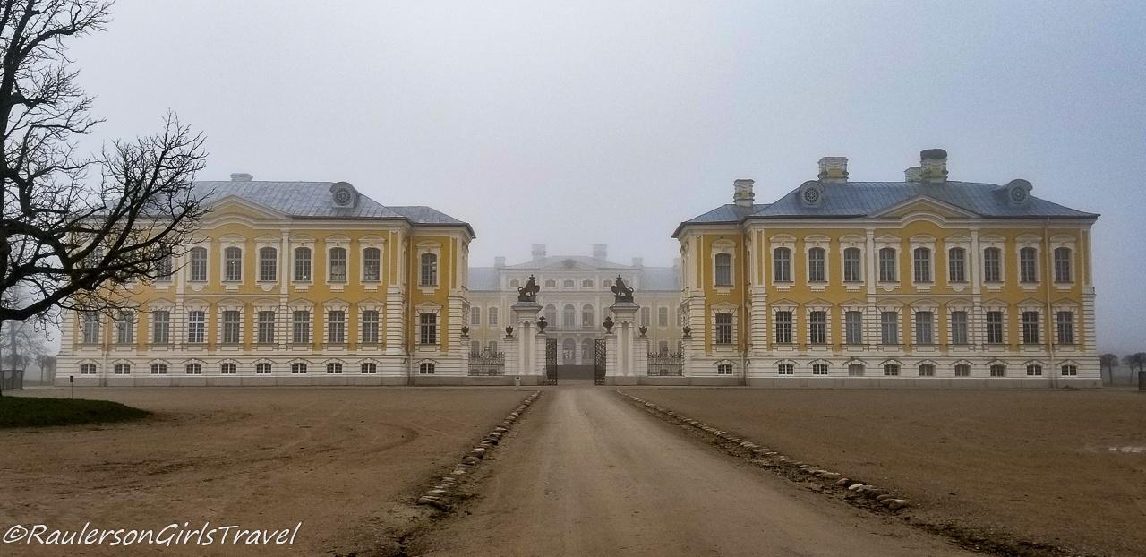 Rundāle Palace in Latvia