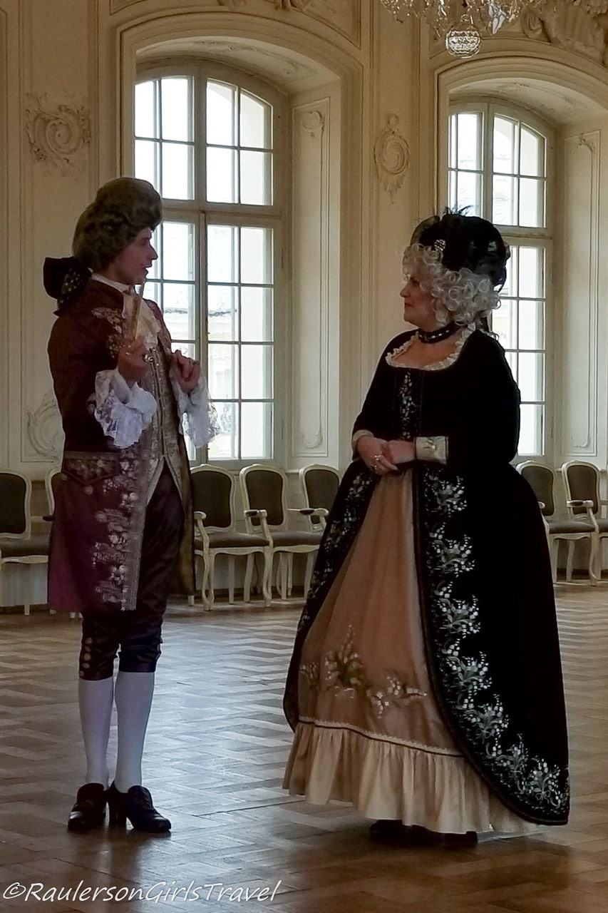 Lady and Gentleman in the Palace