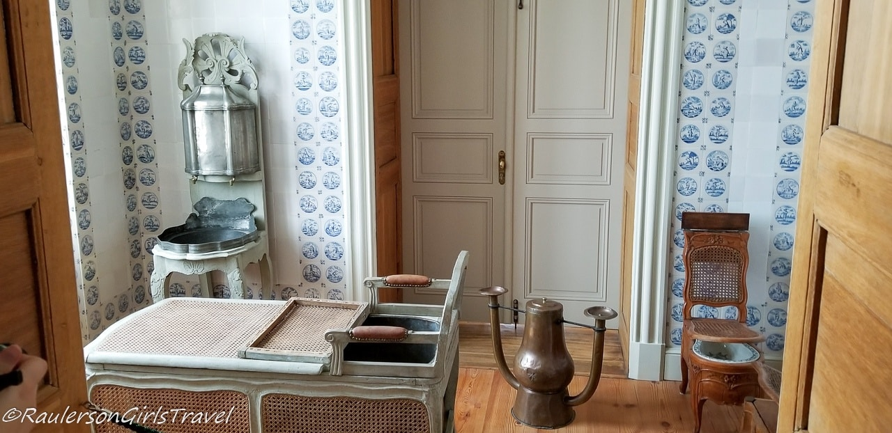 Bathroom in the Rundāle Palace